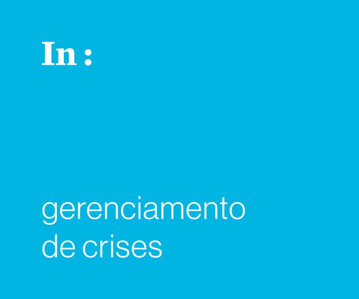 Gestão da comunicação em crises nos diversos segmentos do turismo