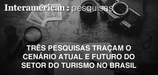 Três pesquisas apontam a situação do turismo no Brasil